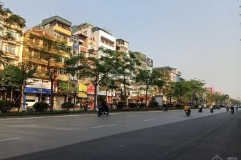 Bán nhà mặt phố Xã Đàn, Đống Đa, MT 10 m, lô góc 2 mặt tiền, 180m2 x 9 tầng, thuê 350tr/tháng