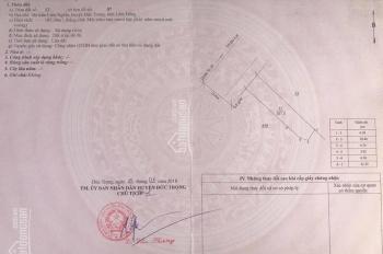 Bán đất mặt tiền đường QL 20, thị trấn Liên Nghĩa, huyện Đức Trọng. LH 0933820214