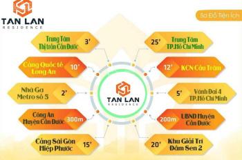 Đất mặt tiền chợ Cần Đước, mở bán giai đoạn đầu tư công ty Nam Phong Sài Gòn, đất ở đô thị sổ riêng