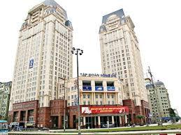 Cho thuê văn phòng tòa nhà Sông Đà HH4 diện tích 75m2,150m2,165m2,330m2 đã ngăn chia phòng