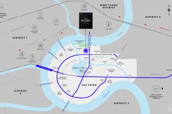 Booking tòa tháp mới - The River Thủ Thiêm, Pool Villas and penthouse, LH 0909916852 xem nhà mẫu