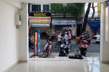 Cho thuê nhà mặt tiền Nguyễn Thái Bình, Phường 4, Quận Tân Bình. DT 4 x 10m