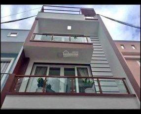 Bán nhà đường Nguyễn Cửu Vân, Phường 17, Bình Thạnh, 1 trệt 2 lầu, sân thượng, 52m2, 2,3 tỷ, SHR