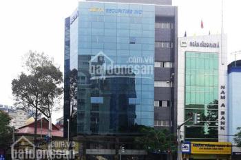 Cho thuê tòa nhà mặt tiền Nguyễn Thái Bình, Quận 1, DT 8.5x18m, hầm 10 tầng. LH Vân 0901465338
