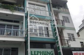Cho thuê nhà mặt tiền Tân Bình, P2, đường Yên Thế, 5.4x20m, H + T + lửng + 3L + ST, 115 triệu/tháng