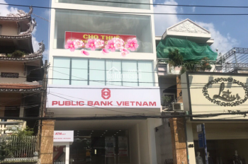 Cho thuê văn phòng tòa nhà Public Bank đường Lê Quang Định, gần Phạm Văn Đồng, DT 180m2 giá 38 tr