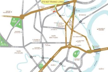 Bán căn hộ Ascent 2PN view sông hướng Đông tầng giữa giá rẻ nhất chỉ 3.160 tỷ bao hết chi phí