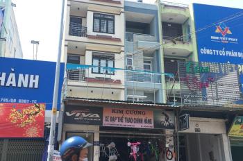 Cho thuê MT kinh doanh Quang Trung ngay chợ Hạnh Thông Tây 6x18m 4 lầu mới đẹp, giá 50 triệu