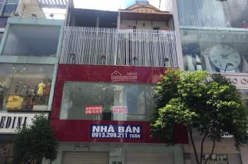 Cho thuê nhà mặt tiền 112 - 1144 Nguyễn Trãi, P Bến Thành, DT 8m x 22m, trệt 3 lầu ST, 200 tr/th