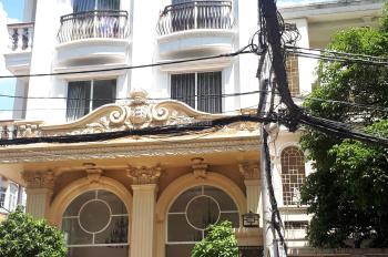 Bán khách sạn mặt tiền Trương Công Định. Diện tích 5,5m x 18m 1 hầm 5 lầu HĐ thuê khoán 90tr/tháng