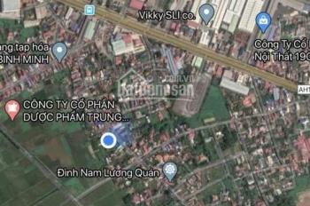 Chỉ với 462tr có ngay 1 lô đất ngõ 3m tại Lương Quán, Nam Sơn, An Dương