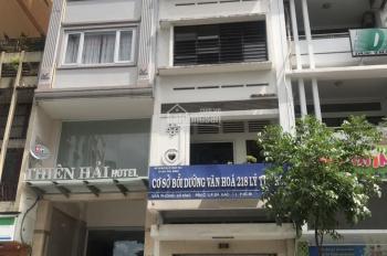 Siêu vị trí mặt tiền Đào Duy Từ, Q10, 11 phòng ngủ - hầm trệt 6 lầu, gía ưu đãi
