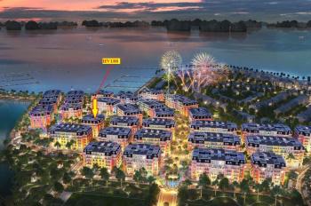 Bán lại lô HV188 - Giá HĐ 11,3 tỷ - Xây 6 tầng - Lô góc - Aqua City Hạ Long