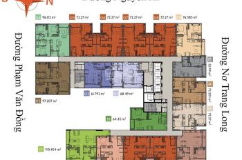 Căn Ascent cần bán view hướng Đông giá tốt nhất thị trường, 3.160 tỷ bao hết chi phí, tầng đẹp