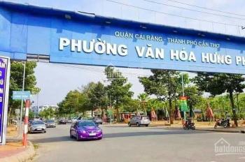 Bán nền góc khu Hưng Phú (qua cầu 26/3), phường Hưng Phú, quận Cái Răng, TP Cần Thơ