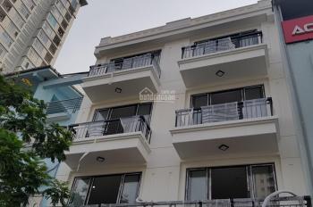 Bán nhà đep, 123m2, mặt tiền 8m, nhà 5 tầng xây mới, vị trí mặt phố Phú Xá, Tây Hồ, Hà Nội