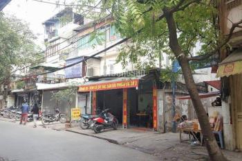 Bán nhà mặt phố Mai Động 92m2, 3 tầng, sổ đỏ, MT 12m giá 5 tỷ. LH Phú Trần: 0989585039 - 0903460739
