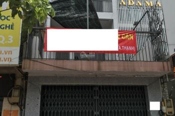 Cho thuê nhà mặt tiền đường Lý Thái Tổ, P1, Q3, DT: 4.5x30m, trệt 4 lầu, giá 60tr/tháng