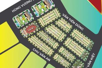 Bán đất thành phố Bà Rịa 1,75 tỷ/114m2 (E42) dự án Hùng Vương Residence. LH: 093835.2623