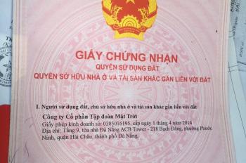 Đường dây điện 29/3 khu Nguyễn Tri Phương - lô 38 B1.48 sạch đẹp, giá 4.45 tỷ - LH: 0905873586