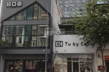 Cho thuê nhà mặt tiền Bùi Thị Xuân Q1, trệt + lầu. DT 6x25m, thích hợp làm cafe, nhà hàng, lounge