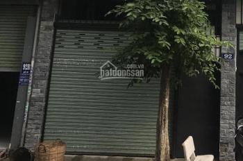 Cho thuê nhà nguyên căn 92 đường Đỗ Bí, phường Phú Thạnh, quận Tân Phú