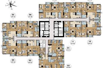 Bán căn hộ 03 diện tích 143m2 - Không gian sáng tạo - Giá chỉ từ 24 triệu/m² - Hỗ trợ lãi suất 0%