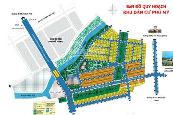 Bán 1 nền duy nhất giá 90tr/m2 tại KDC Phú Mỹ. Liên hệ ngay 0918999523 Tuyền