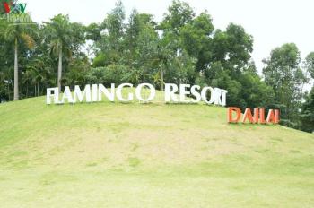 Chính chủ bán đất 7636m2 thổ cư mặt hồ Đại Lải, gần Flamingo Đại Lải, sổ đỏ đầy đủ, giá rẻ 4tr/m2