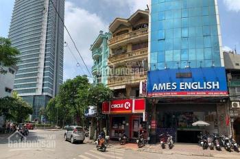 Cho thuê tầng 1, 2 nhà mặt phố Phó Đức Chính DT 450m2 tòa nhà 12 tầng mặt tiền 9m giá chỉ 130tr