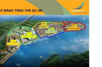 Kẹt tiền cần bán lô đất Marine City, 100m2, giá 11tr/m2. LH Zalo/Viber 0909503478 Quốc Thịnh