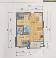Tôi chính chủ cần bán căn chung cư 68.35m2, ở khu đô thị Thanh Hà, Kiến Hưng, Hà Đông