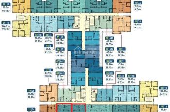 Chính chủ bán gấp căn hộ chung cư Hà Nội Homeland, căn 1016, DT: 69.04m2, giá: 1.610ỷ LH 0904516638