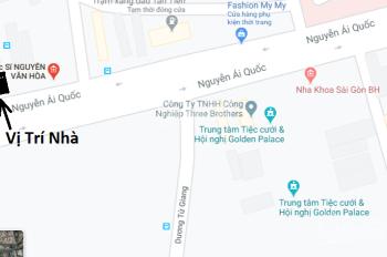 Cho thuê nhà mặt tiền 3.5 tầng, 4.9x21m2, Nguyễn Ái Quốc, Biên Hòa gần Vincom, chợ, Golden Palace
