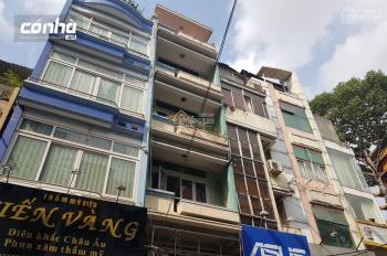 Cho thuê nhà mặt tiền đường Trần Minh Quyền, Q10. Khu kinh doanh sầm uất. Nhà 5 tầng suốt, Có Nhà
