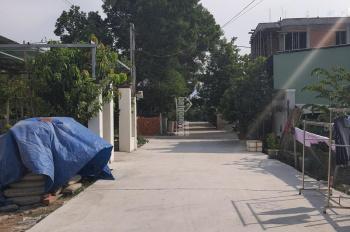 Bán lô đất trục chính thôn Miếu Bông dt 84m2 đường bê tông 5m5, gần Quốc Lộ 1A và chợ Miếu Bông