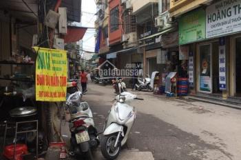 Bán nhà phố Nguyễn Phúc Lai, nhà 4 tầng lô góc, mặt tiền 6.5m, ngõ thông tiện kinh doanh