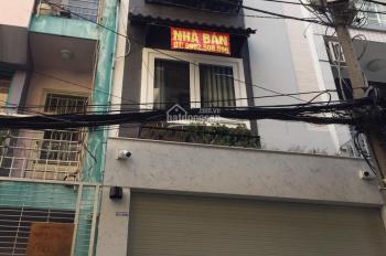 Bán nhà mặt tiền Nhật Tảo, Quận 10, diện tích: 5x16.5m, kết cấu 4 lầu, giá chỉ 17 tỷ TL