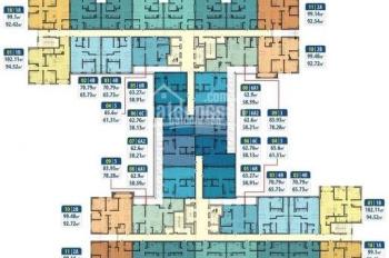 Bán căn DT 92m2 chung cư Hà Nội Homeland, Thượng Thanh, LB tầng 12 giá bán 22.5tr/m2. LH 0989608071