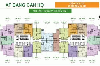 Gia đình muốn bán gấp CHCC Eco Dream City, căn 15 - 20, DT: 78m2, 2PN, giá 26tr/m2, LH: 0971864816