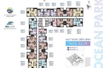 Chỉ 1.233 tỷ sở hữu ngay căn hộ 1PN + 1 tầng trung tòa S2.19 - VHOP - View bể bơi mái kính