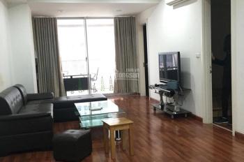 Cho thuê chung cư Mipec Tây Sơn, Đống Đa, dt 110m2, 02 phòng ngủ, full nội thất, giá 14tr tlg