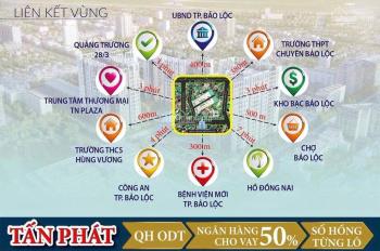 Bán lô đất 650m2 ngay UBND thành phố Bảo Lộc giá 1,6 tỷ - Miễn trung gian - Lh 0917951882