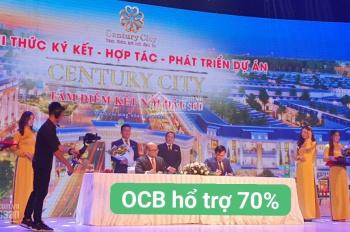 Bán đất Century City, Thành phố sân bay Long Thành, ngân hàng hỗ trợ 70% không lãi suất năm đầu