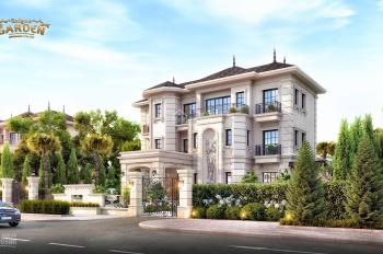Sài Gòn Garden Riverside Village biệt thự vườn 3 mặt tiền sông Quận 9, chiết khấu 5%, LH 0902930980