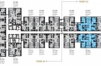 Cần bán gấp căn hộ cao cấp 2PN Sunshine City Sài Gòn tòa S1 Quận 7. View nội khu - vườn hoa Anh Đào