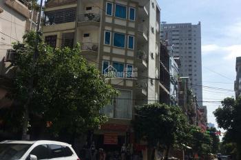 Bán nhà lô góc mặt chợ Bông Đỏ - Ngô Thì Nhậm. 74m2 * 7 tầng thang máy* mặt tiền 8m