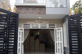 Bán gấp căn nhà 80m2 đường Hương Lộ 2, Xã Tân Phú Trung, Huyện Củ Chi, sổ hồng riêng, giá: 1 tỷ 1
