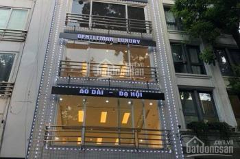 Cho thuê nhà mặt phố Phan Kế Bính, Ba Đình MT 7m, 90m2 x 5 tầng, thông sàn (đồng ý lẻ tầng)
