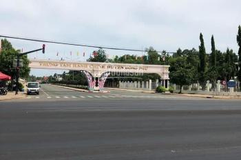 Cần bán gấp lô đất mặt tiền đường Lạc Long Quân 150m2 thổ cư 100m2, 390 triệu, sổ hồng riêng